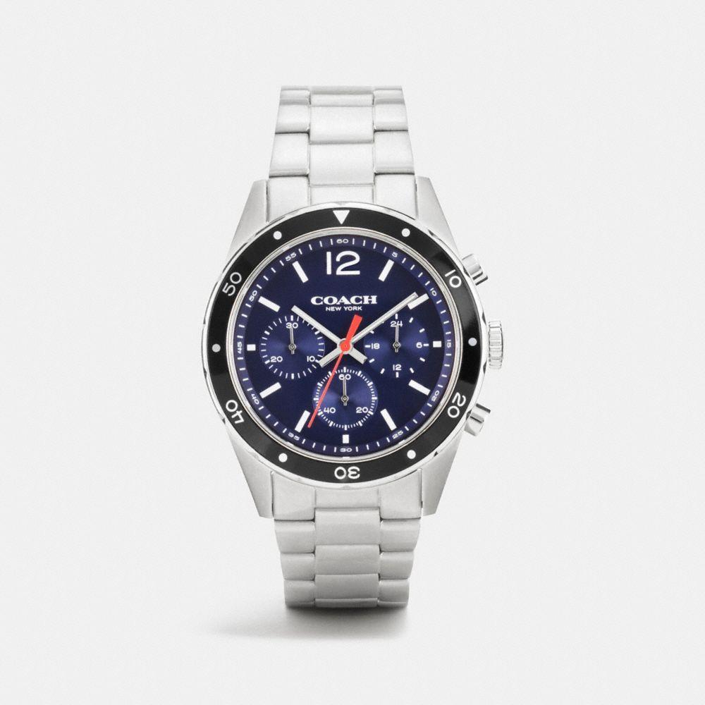 Sullivan Sport Stainless Steel Chrono Bracelet Watch