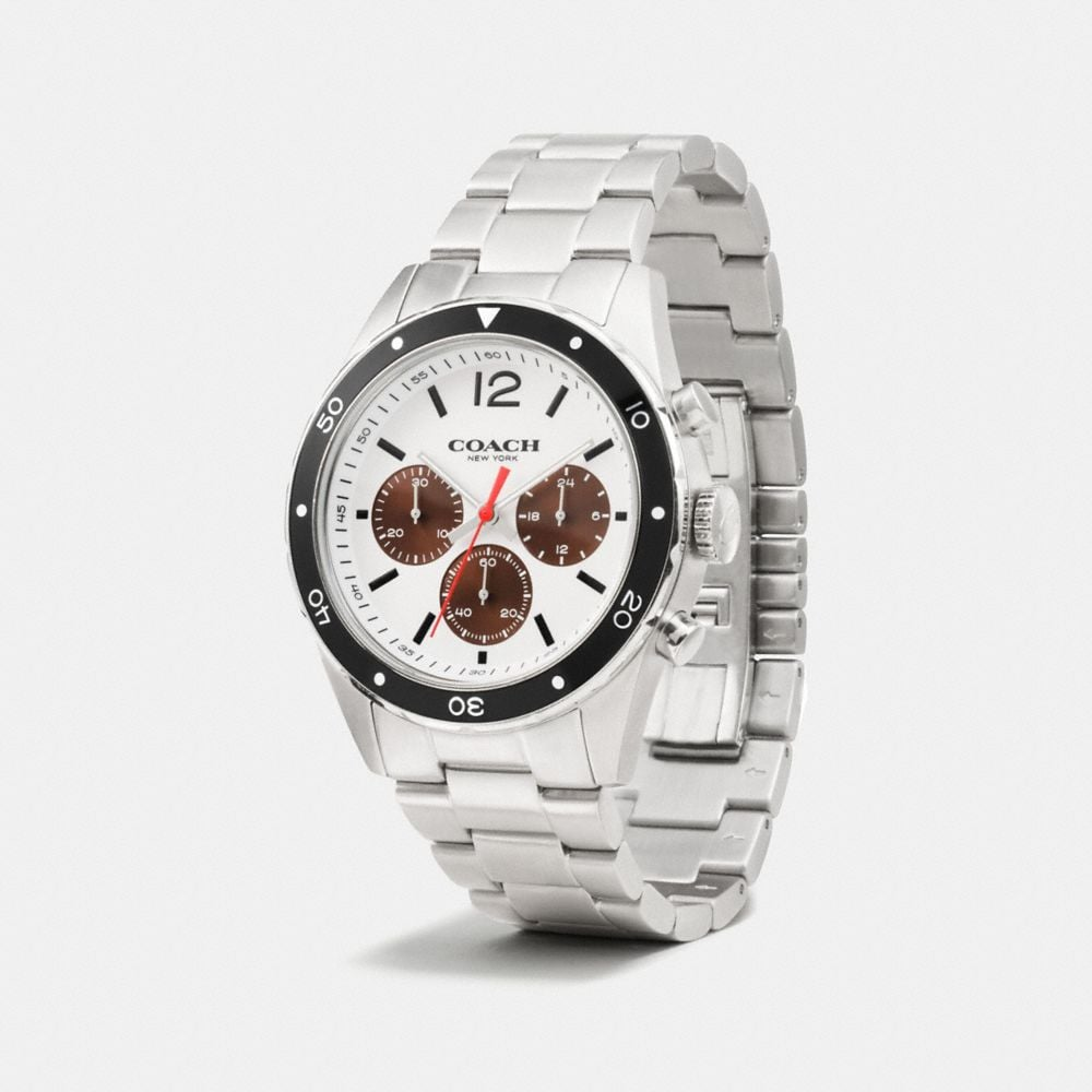 Coach Sullivan Sport Chrono Al Beze Watch, 44mm Alternate View 1