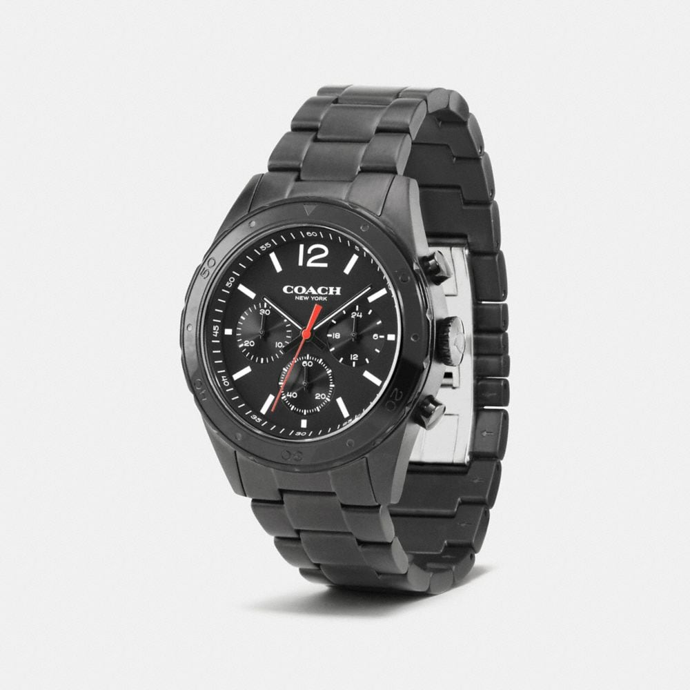 Sullivan Sport Black Ionized Plating Chrono Bracelet Watch - Alternate View A1