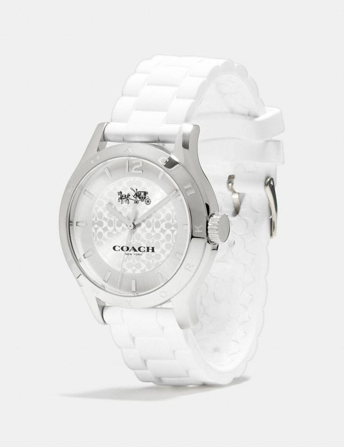 Coach Maddy Watch White  Alternate View 1