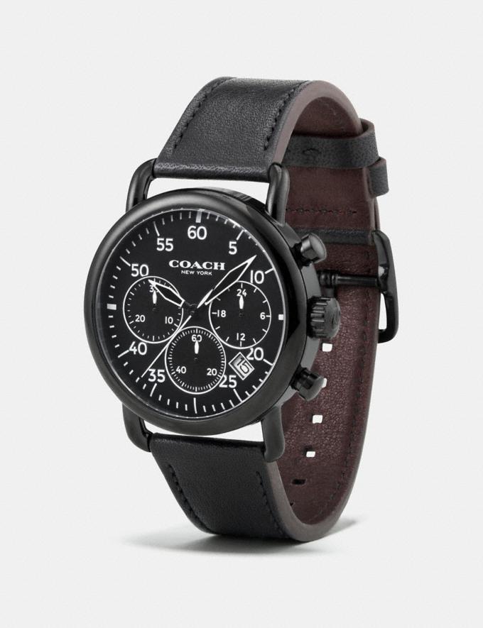 Coach 75th Anniversary Delancey Watch, 42mm Black Men Accessories Watches Alternate View 1