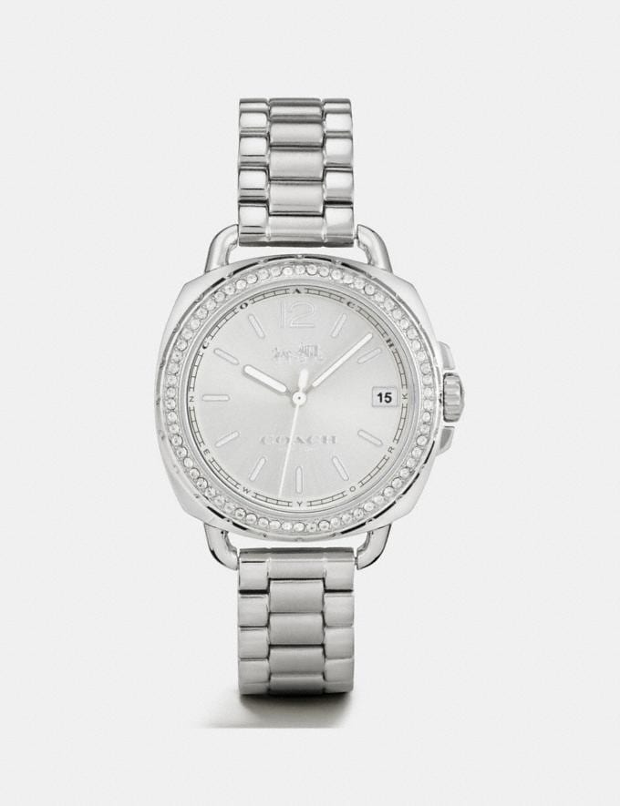 Coach Tatum Watch, 34mm Stainless Steel SALE Women's Sale Accessories