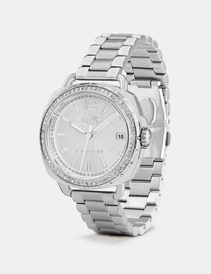Coach Tatum Watch, 34mm Stainless Steel SALE Women's Sale Accessories Alternate View 1