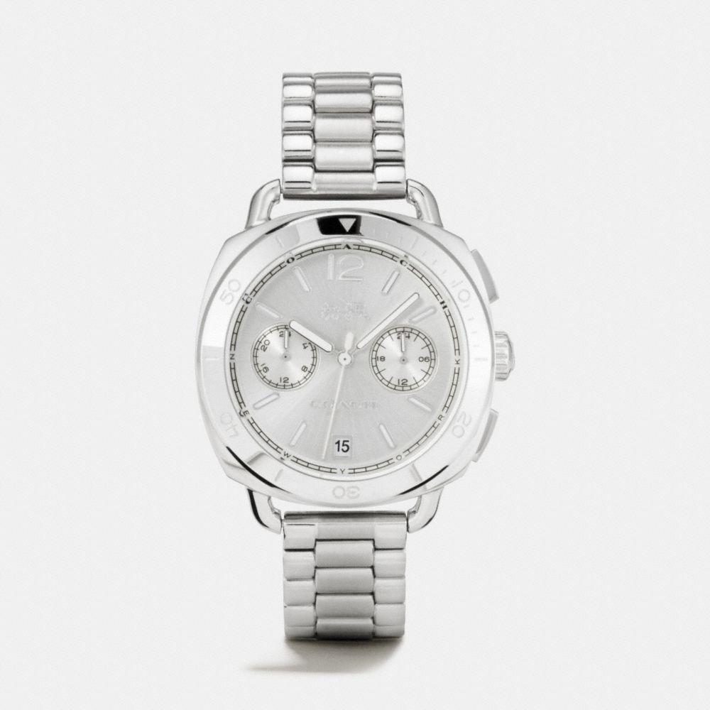 Tatum Stainless Steel Sunray Dial Bracelet Watch
