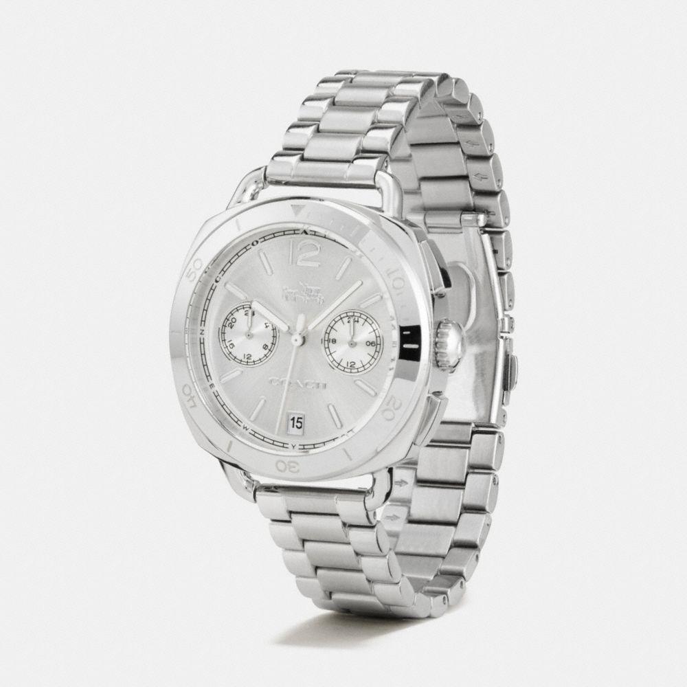 Tatum Stainless Steel Sunray Dial Bracelet Watch  - Alternate View A1