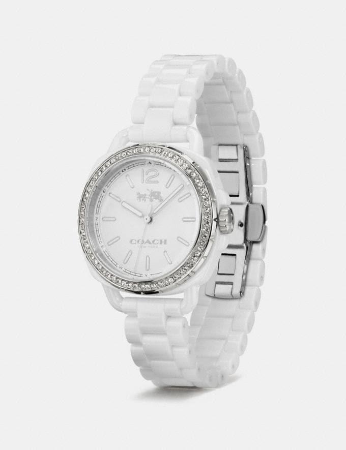 Coach Tatum Ceramic Set Bracelet Watch White  Alternative Ansicht 1