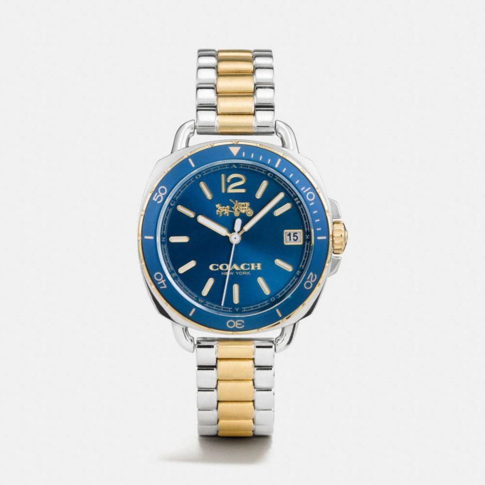 Tatum Two Tone Sunray Dial Bracelet Watch