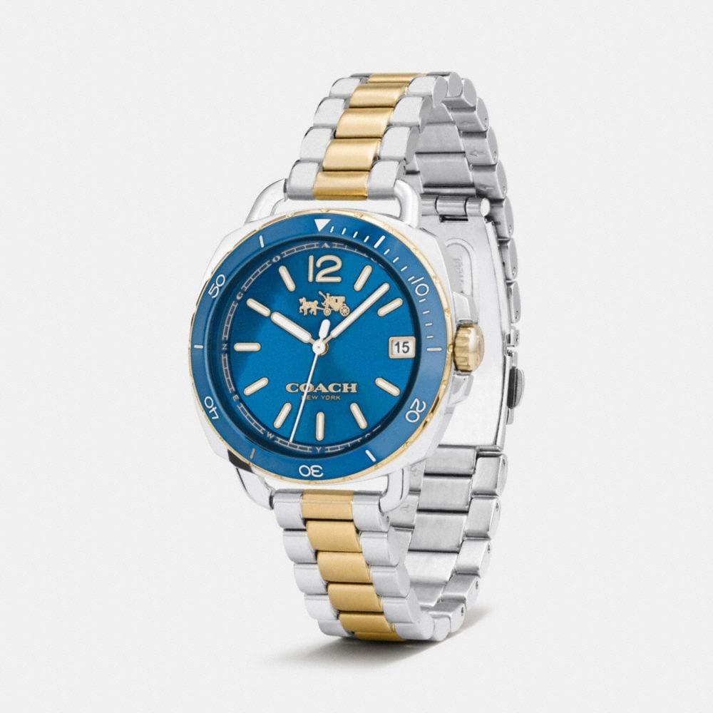 Tatum Two Tone Sunray Dial Bracelet Watch - Alternate View A1