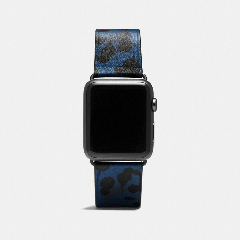 Apple Watch® Wild Beast Camo Leather Strap