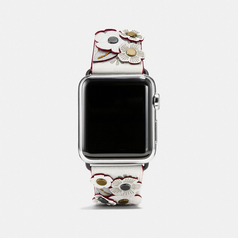 apple watch® strap with tea rose | Tuggl