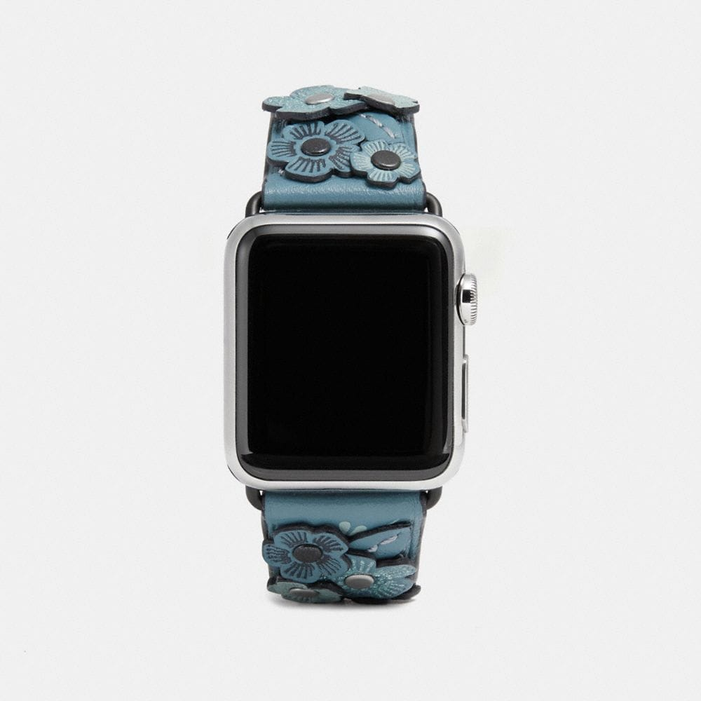 Coach Apple Watch® Strap With Tea Rose