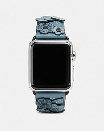 CORREA CON ROSA DE TÉ PARA APPLE WATCH®