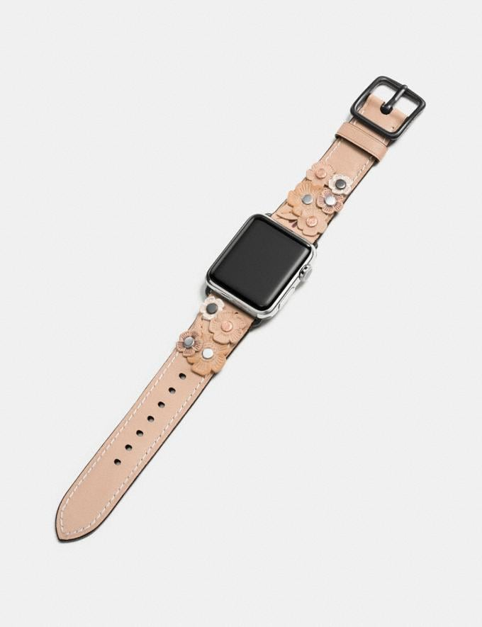 "Coach Apple Watch® ""Tea Rose""-Armband Buche Damen Accessoires Uhren Alternative Ansicht 1"