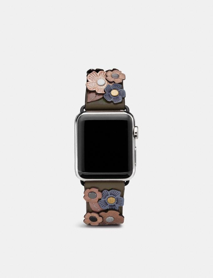 Coach Apple Watch® Strap With Tea Rose Ink