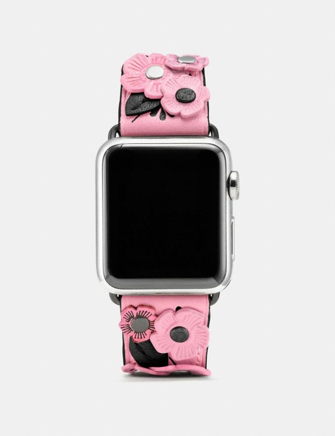 "Coach Apple Watch® ""Tea Rose""-Armband BlÜTenblÄTter Damen Accessoires Uhren"