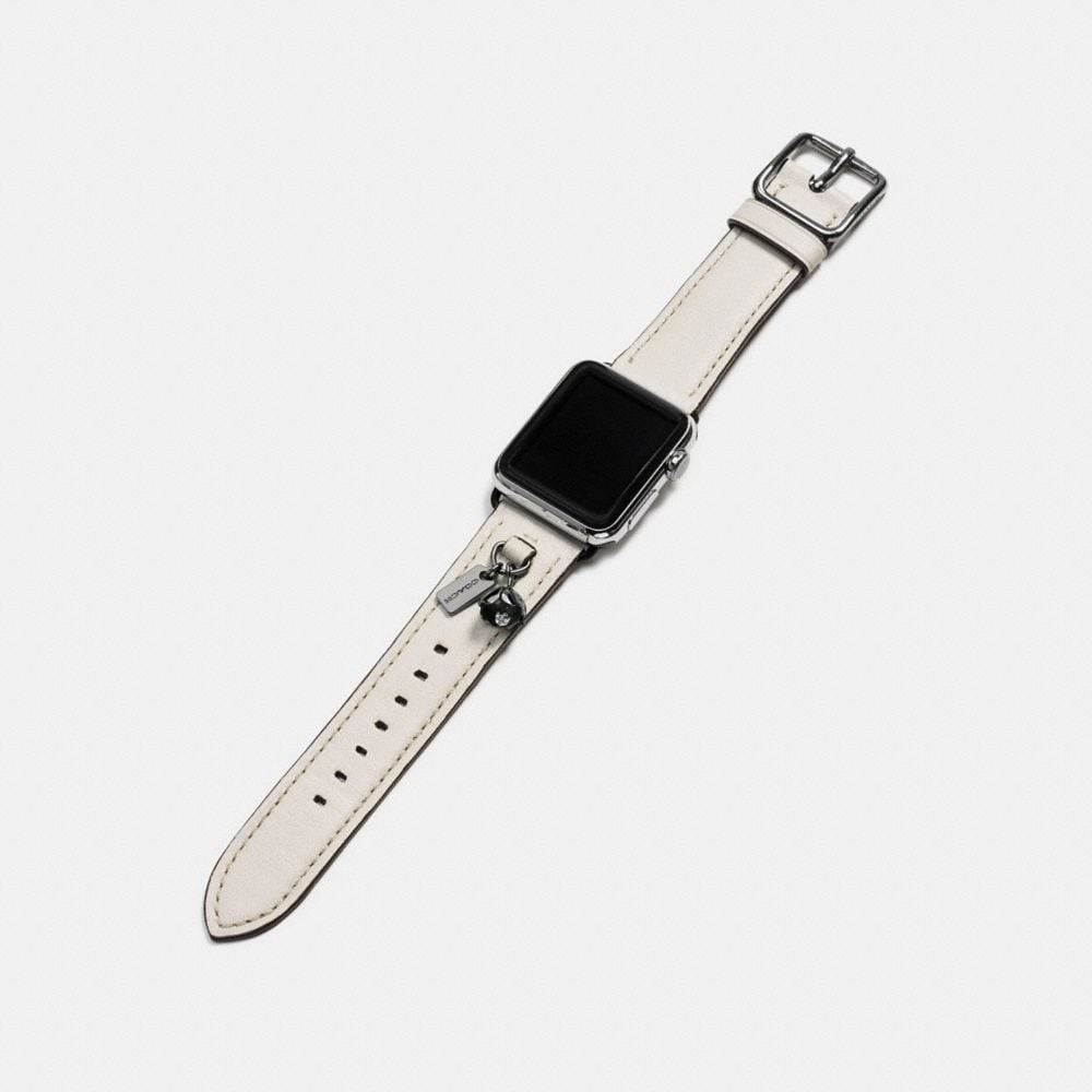 Coach Apple Watch® Strap With Charms Alternate View 1