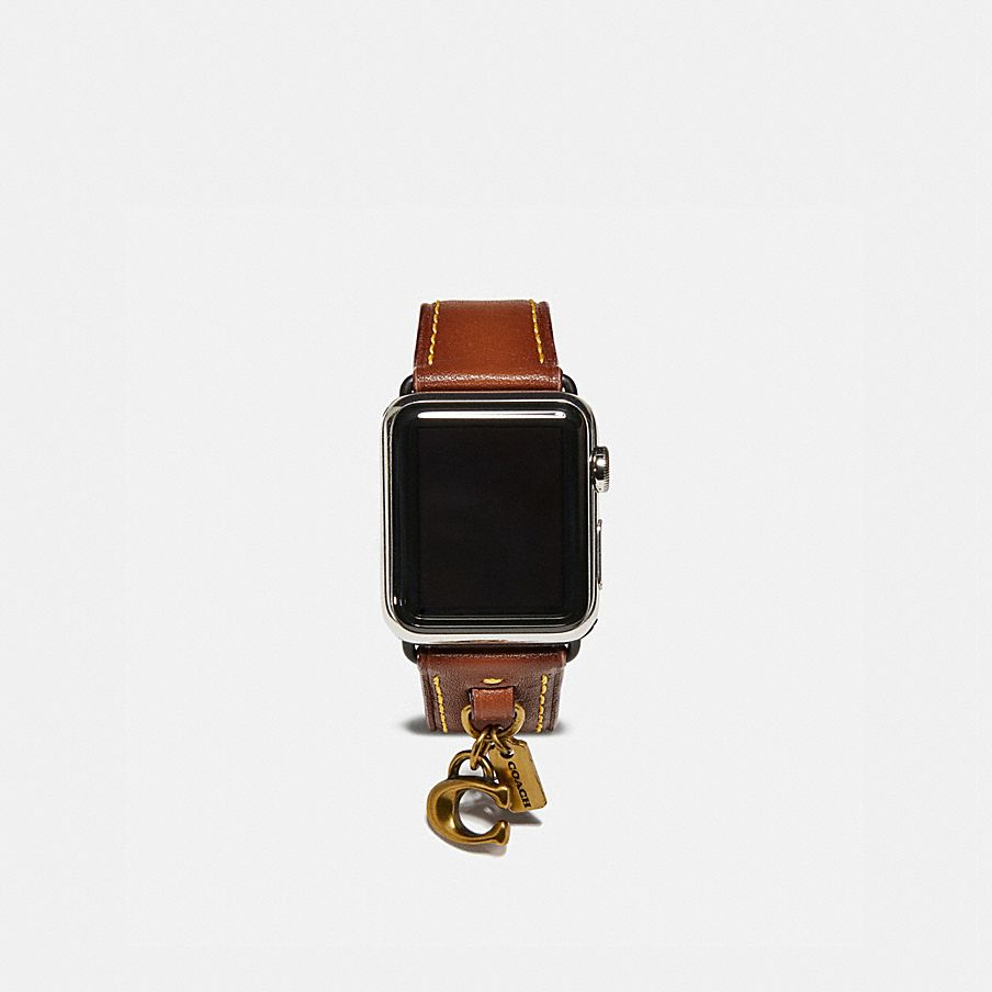 COACH  Apple Watch® Strap With Charms 2ef8911381