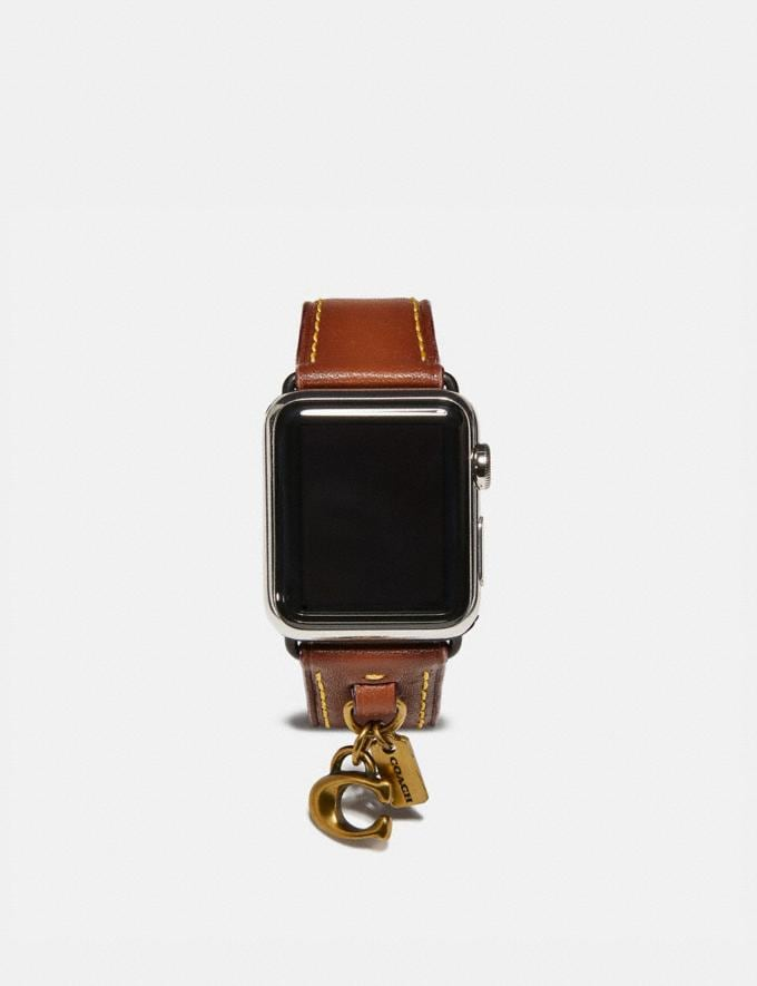 Coach Apple Watch® Armband Mit AnhÄNgern Kaki