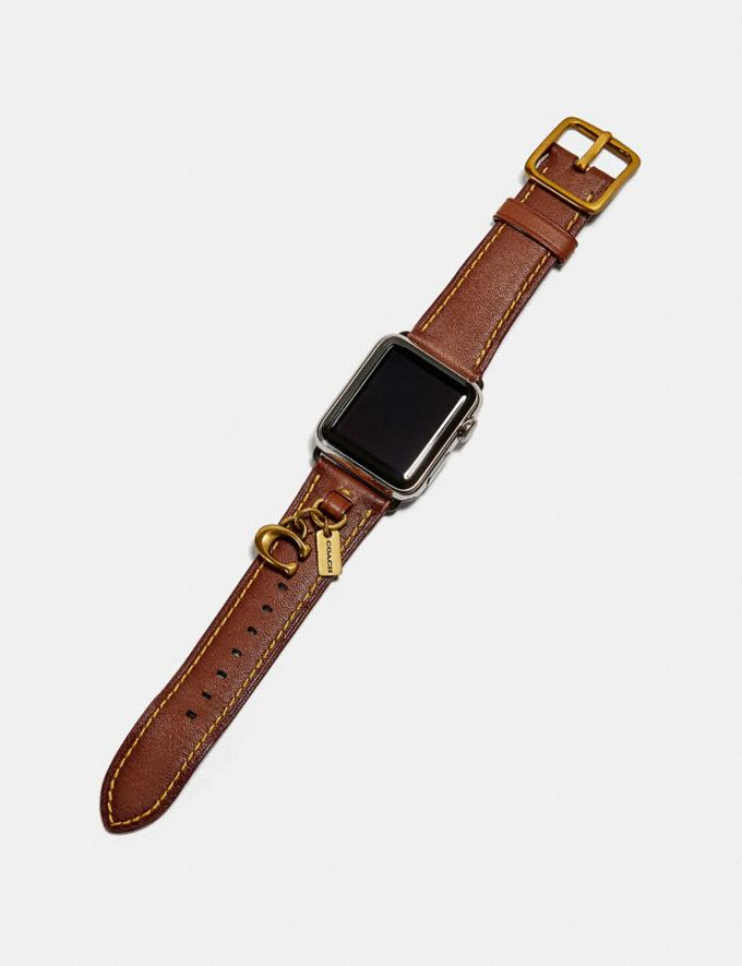 Coach Apple Watch® Armband Mit AnhÄNgern Kaki  Alternative Ansicht 1
