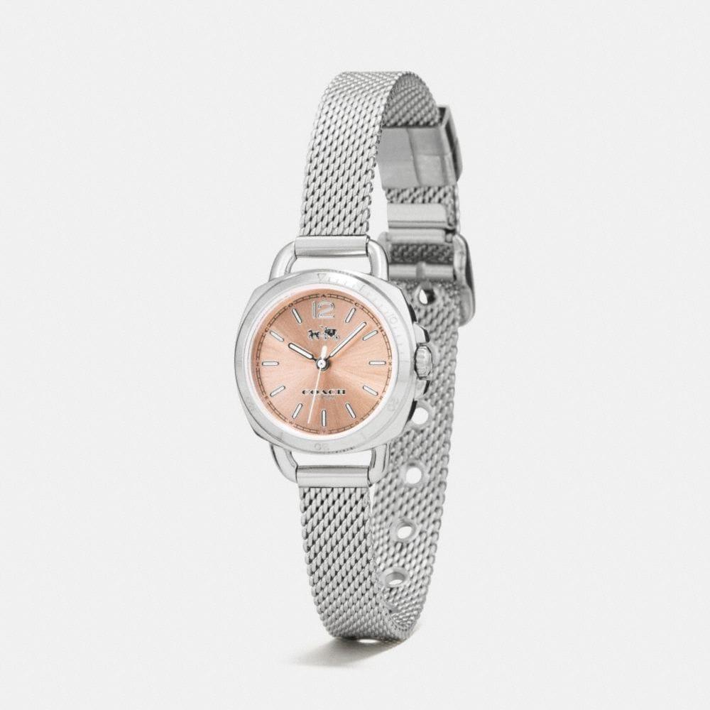 Tatum Stainless Steel Sunray Dial Mesh Bracelet Watch  - Alternate View A1