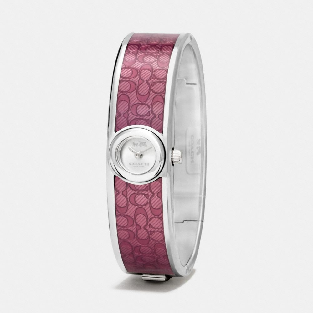 Scout Stainless Steel Sunray Dial Enamel Signature C Bangle Watch - Alternate View A1