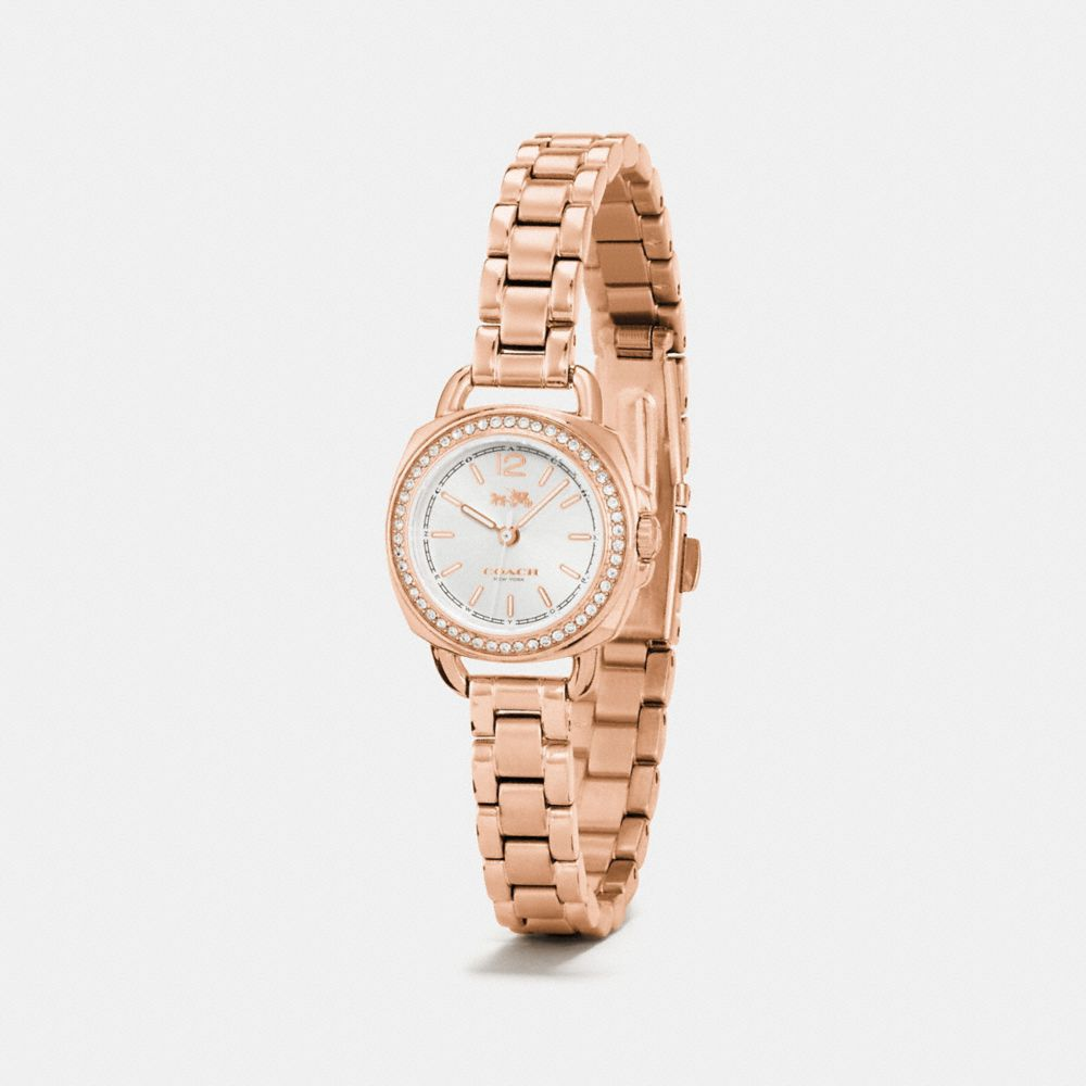 Tatum Rose Gold Tone Sunray Dial Set Bracelet Watch  - Alternate View A1