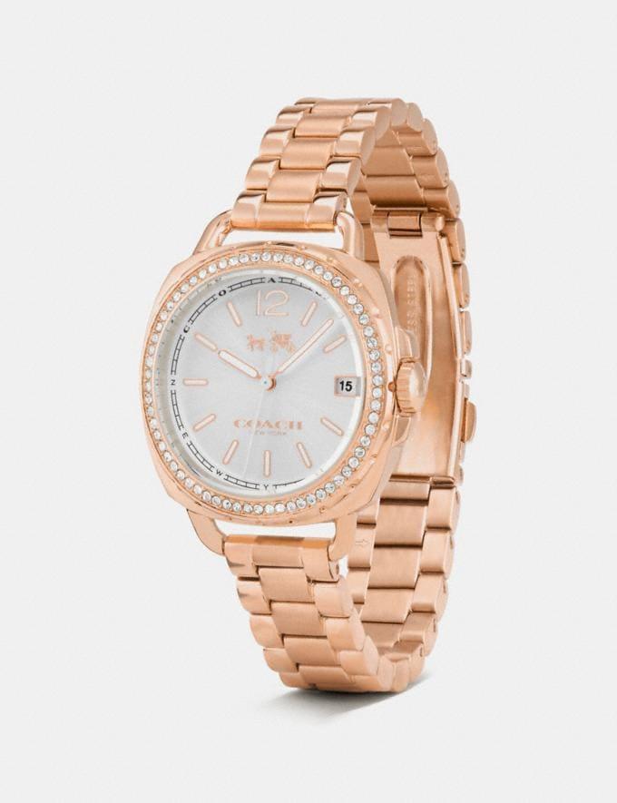 Coach Tatum Watch, 34mm Rose Gold Women Accessories Watches Alternate View 1