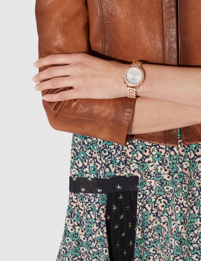 Coach Tatum Watch, 34mm Rose Gold Women Accessories Watches Alternate View 2