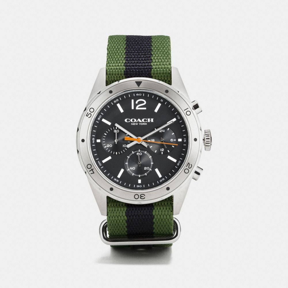 SULLIVAN SPORT STAINLESS STEEL NATO STRAP WATCH