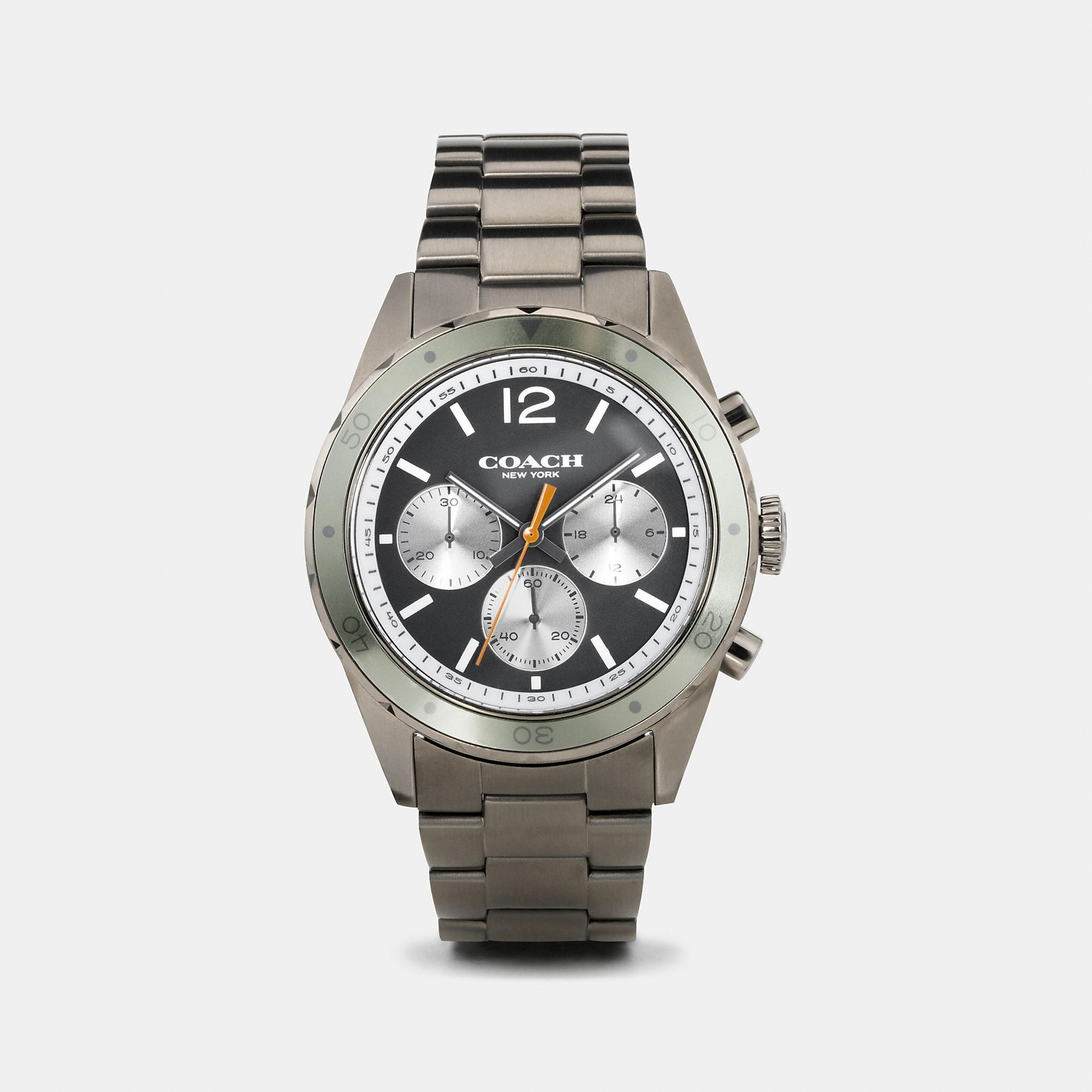 Coach Sullivan Sport Ionized Plated Bracelet Watch