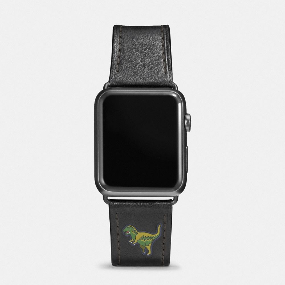 Coach Apple Watch® Strap With Rexy