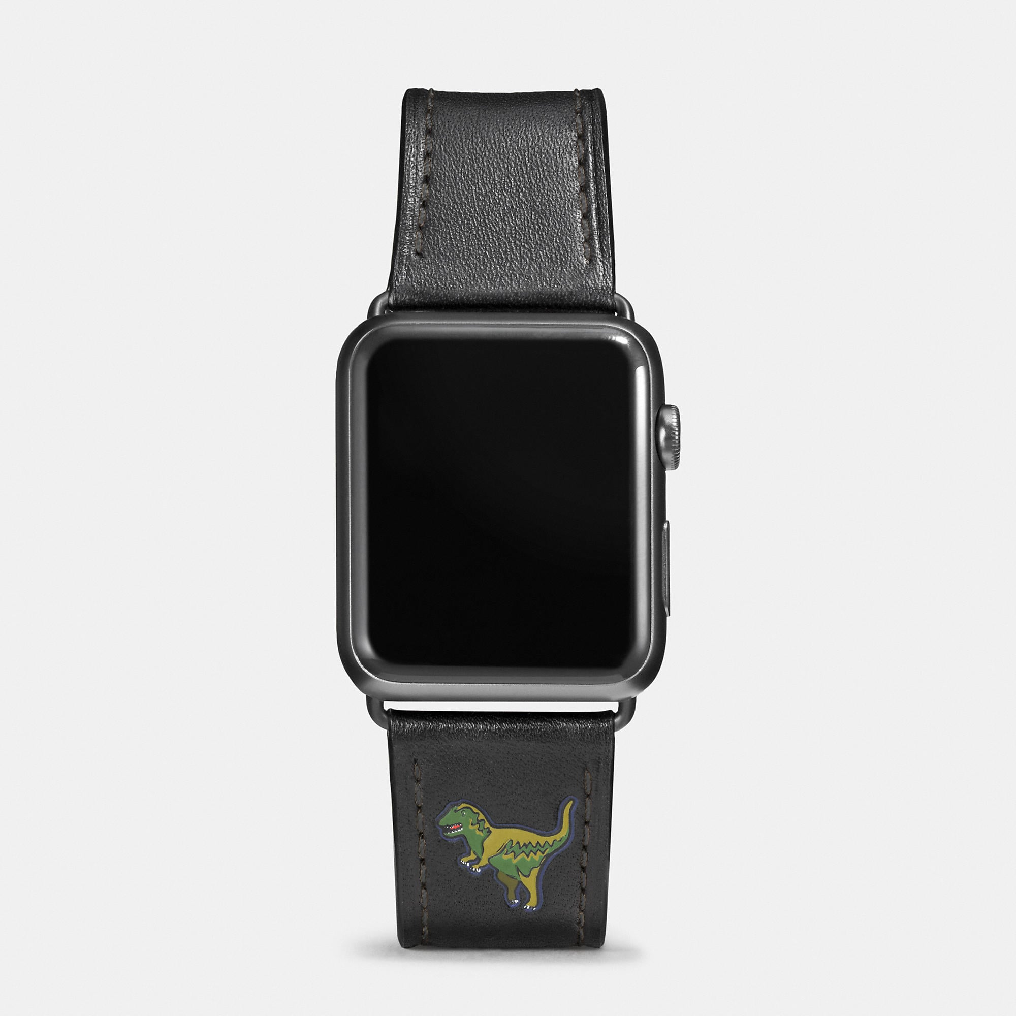 Coach Apple Watch Rexy Leather Watch Strap