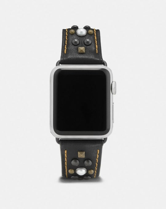APPLE WATCH® LEDERARMBAND MIT NIETEN