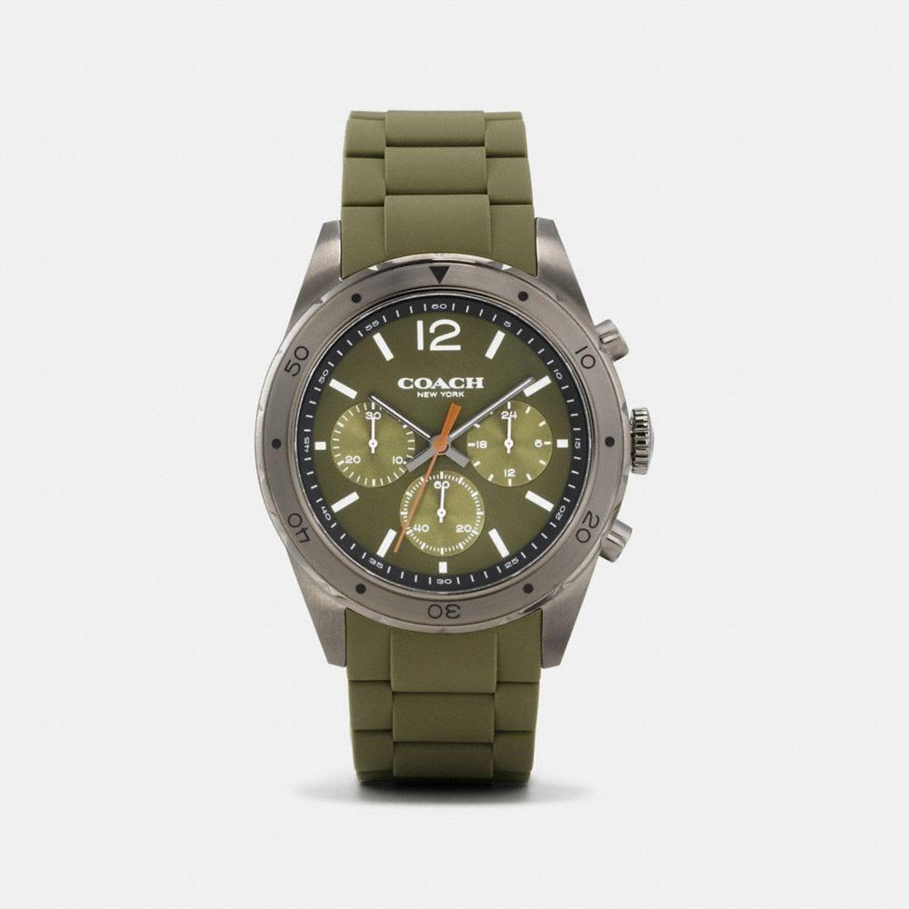 Sullivan Sport Ionized Plated Rubber Strap Watch