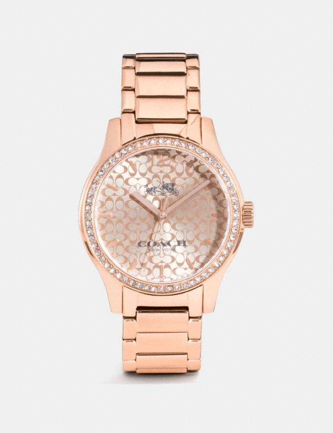 Coach Maddy Watch Rose Gold Clearance Wallets & Accessories