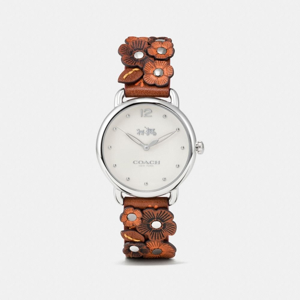 DELANCEY WATCH WITH FLORAL APPLIQUE