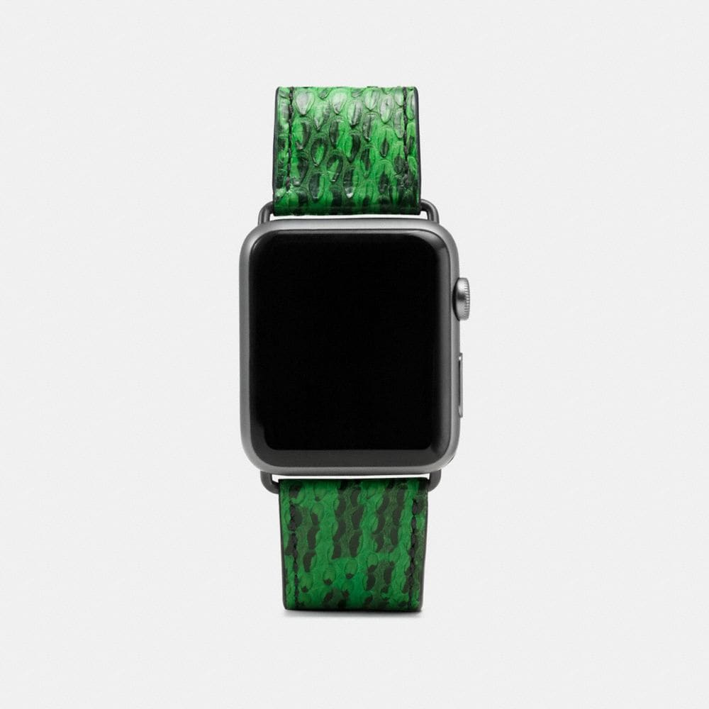 APPLE WATCH® STRAP IN SNAKESKIN