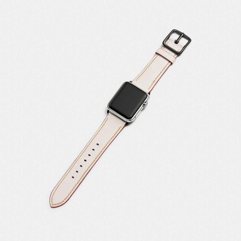 Coach Apple Watch® Strap With Floral Print Alternate View 1